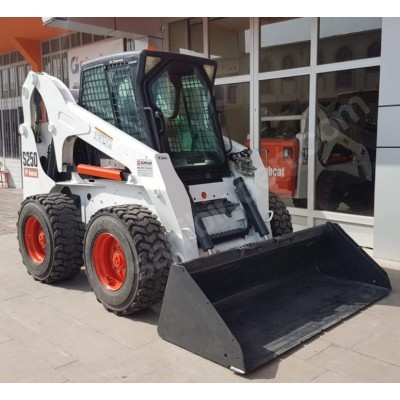 Bobcat S250 Loader Road Trimmer