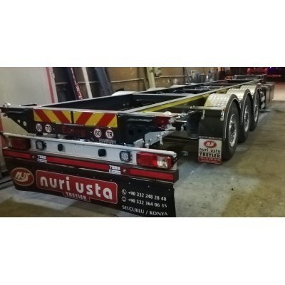 Container Carrier Trailer