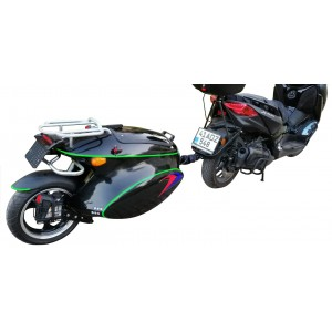 Motorcycle Single Wheel Sport Mono Trailer