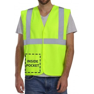 Reflective Construction Work Safety Vest